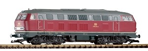 Piko 37504 DB IV BR218 DIESEL LOCOMOTIVE, CRIMSON