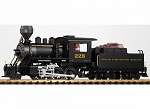 PIko 38214 D&RGW Mogul Loco 228 & Tender w/Sound, Smoke and Lights