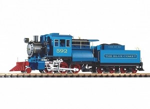 Piko Blue Comet Camelback 2-6-0 Loco w/Lights, Sound and smoke