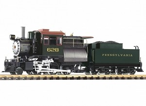 Piko 38242 PRR Camelback 2-6-0 Loco 628 w/Lights, Sound and Smoke