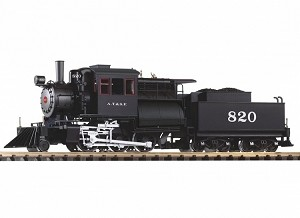 Piko 38243 SF Camelback 2-6-0 Loco 820 w/Lights, Sound and Smoke