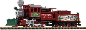 Piko Christmas Camelback Locomotive with smoke & sound