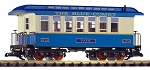 PIKO 38621 Blue Comet Wood Coach Car #1174
