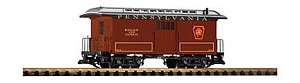 PIKO 38627 PRR Wood Baggage Car 22146