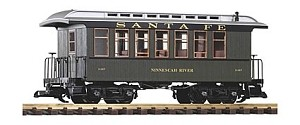 Piko 38628 Santa Fe Wood Coach 11467