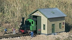 Red River Loco Shed