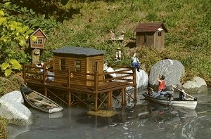Brad's fishing cabin