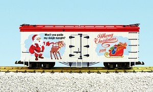 USA Trains 2018 Christmas  Reefer