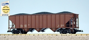 USA Trains Data Only  Red Oxide 70 Ton Hopper