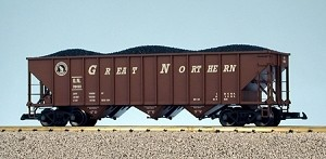 USA Trains Ultimate Series Great Northern 70 Ton Hopper