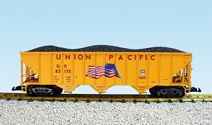 USA Trains Ultimate Series Union Pacific 70 Ton Hopper