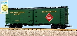 USA Trains Ultimate Series Railway Express Agency 40' Reefer