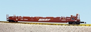 USA Trains Ultimate Series BNSF with no containers