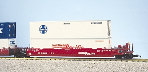 USA Trains Ultimate Series Southern Pacific  5 car pack no containers