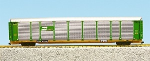 Burlington Northern Bi Level Auto Rack