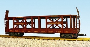 Canadian Pacific 2 tier Auto Carrier