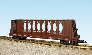 Canadian Pacific  Center Beam Flat Car  #68095