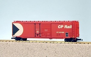 USA Trains Ultimate Series Canadian Pacific Red 50' Double door Boxcar
