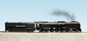 UP FEF3 Northern #844 Black/Graphite Locomotive with sound