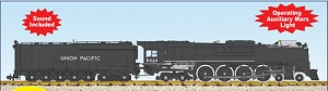 UP FEF3 Northern #8844 Black/Silver Locomotive with sound