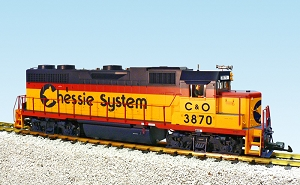 GP38-2 Chessie System