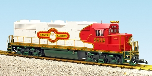 USA Trains GP38-2  Christmas