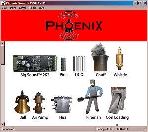 Phoenix Computer interface cable