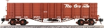 AM30-024   Accucraft /AMS Narrow gauge open end gondola D&RGW