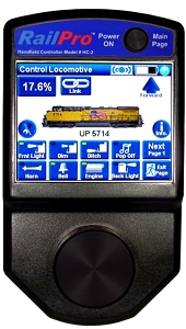 Railpro HC-2-SUN  Wireless Handheld Controller with Color Touchscreen