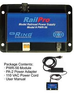 Railpro PWR-56  Power Supply & Repeater