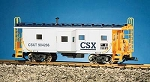 USA Trains Ultimate Series CSX Bay Window Caboose