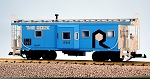 USA Trains Ultimate Series Rock Island Bay Window Caboose