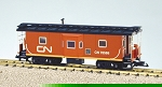 USA Trains Ultimate Series Canadian National  Bay Window Caboose