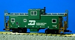 USA Trains Ultimate Series Burlington Northern Extended Vision Caboose