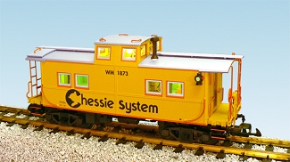 USA Trains Ultimate Series Chessie Center Cupola Caboose