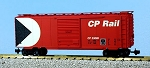 USA Trains Ultimate Series Canadian Pacific Red 40' Boxcar
