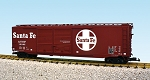 USA Trains Ultimate Series Santa Fe 50' Boxcar