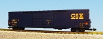 USA Trains Ultimate Series CSX 60' Boxcar