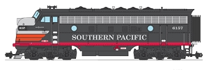 Southern Pacific  Black Widow F-7 A Unit