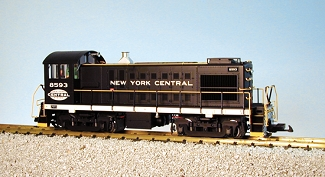 Alco S4 New York Central switcher
