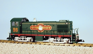 Alco S4 Christmas switcher