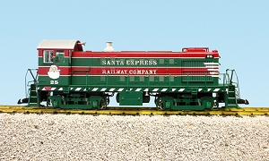 Alco S4 Chirstmas switcher
