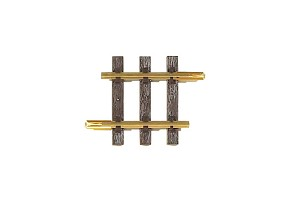 "Piko 35204  Brass Straight Track 95mm  3.75"" 1 piece"