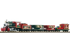 Piko Christmas Freight Starter Set w/Analog Sound & Smoke