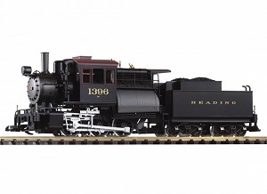 Piko 38244 Reading Camelback 0-6-0 Loco 1396 w/Lights, Sound and Smoke