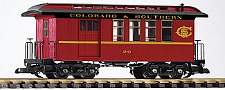 Piko 38645 Colorado and Southern Wood Combine
