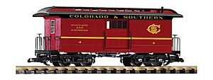 Piko 38647 Colorado and Southern Wood Baggage Car