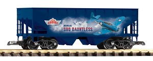 Piko 38925  VINTAGE WARBIRDS ...SBD Dauntless Dive Bomber hopper car.. DUE IN APRIL/MAY