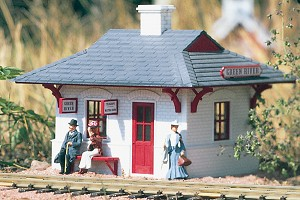 62700 Green River Station by Piko (built up, assembled Model)