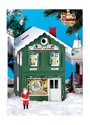 Piko 62713 North Pole Candy Factory Built-Up